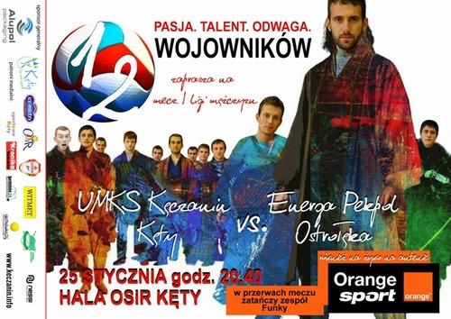 Mecz Kęczanina z Pekpolem pokaże Orange Sport.