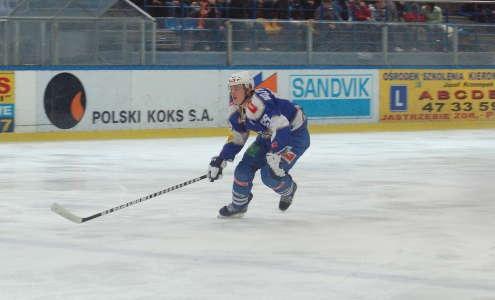 Wynik meczu w Bytomiu otworzył Wojciech Wojtarowicz. Fot. (slr)