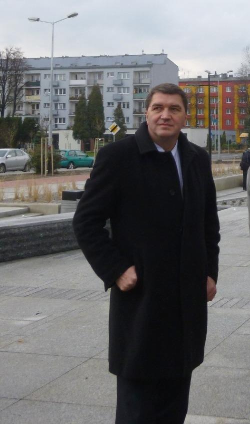 Janusz Chwierut, pełniący funkcję prezydenta Oświęcimia