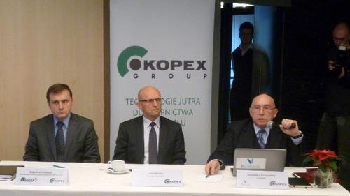 Zarząd firmy Kopex sprawia wrażenie zdeterminowanego, by kopalnię wybudować