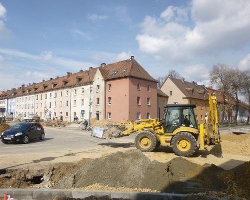 Roboty na Olszewskiego