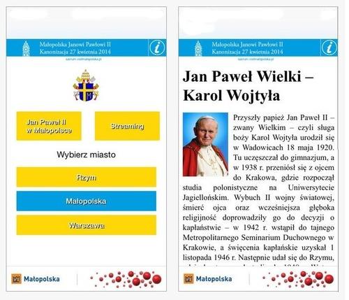 MAŁOPOLSKA. Aplikacja mobilna dla pielgrzymów