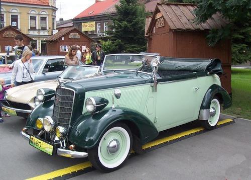 Opel z 1934 r. Fot. Kazimierz Brzuska