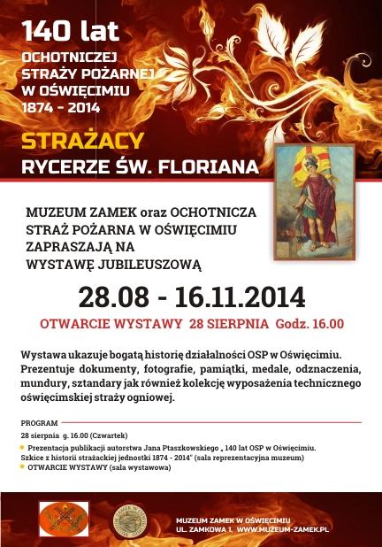 JUBILEUSZ. Rycerze św. Floriana. 140 lat OSP Oświęcim