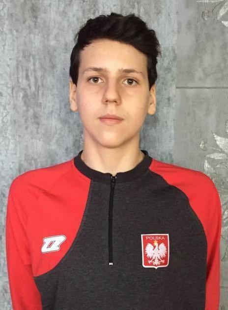 Szymon Zapała został powołany do ścisłej kadry Polski U-15 w koszykówce. Fot. nadesłane