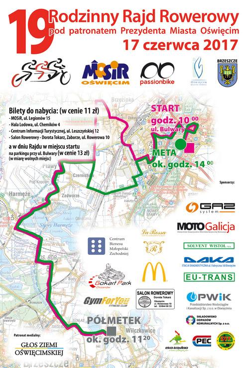 OŚWIĘCIM. To będzie rowerowe święto w mieście nas Sołą