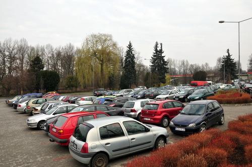 W piątek parking przy ul. Bulwary będzie zamknięty. fot. sz