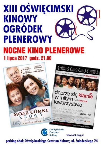 OŚWIĘCIM. Dziś Oświęcimski Kinowy Ogródek Plenerowy