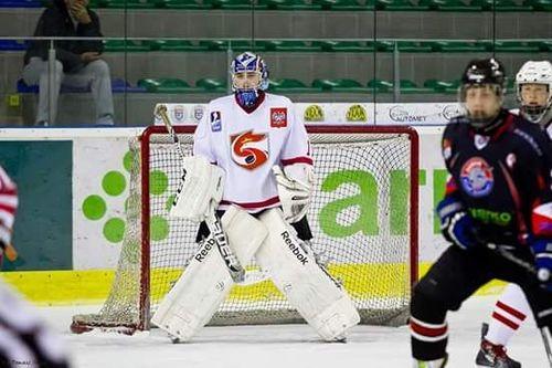 Filip Płonka pojedzie do Finlandii na hokejowy obóz szkoleniowy. Fot. nadesłane