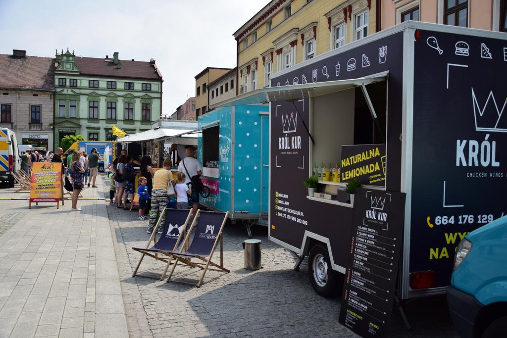 Tak było podczas pierwszej imprezy Food Fest w Oświęcimiu. Jarosław Fiedor