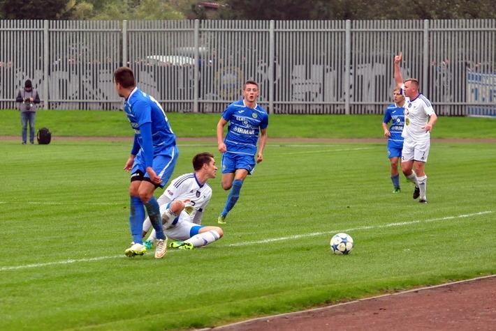 Oświęcimskie drużyny poległy w meczach trzeciej kolejki trzeciej i czwartej ligi. Fot. Szymon Chabior