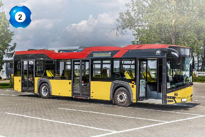 OŚWIĘCIM. Wybierz kolorystykę miejskiego autobusu