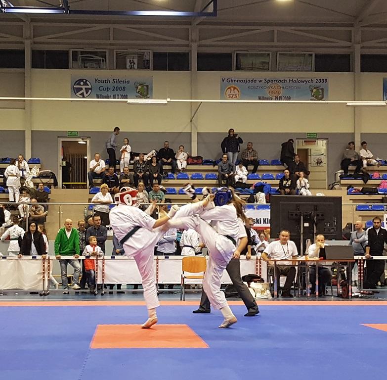 Oświęcimscy karatecy wywalczyli w Bielsku-Białej dziesięć medali. Fot. nadesłane