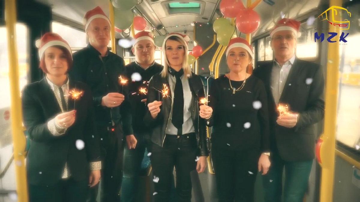ŚWIĘTA. Życzenia świąteczno-noworoczne od Miejskiego Zakładu Komunikacji w Oświęcimiu