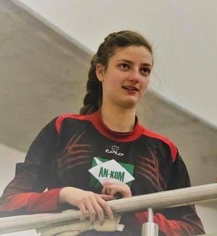 Monika Walaszek z Iskry Brzezinka została powołana do kadry Małopolski do lat 16. Fot. www.facebook.com/IskraBrzezinka