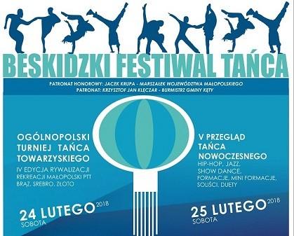 KĘTY. Trwa V Beskidzki Festiwal Tańca