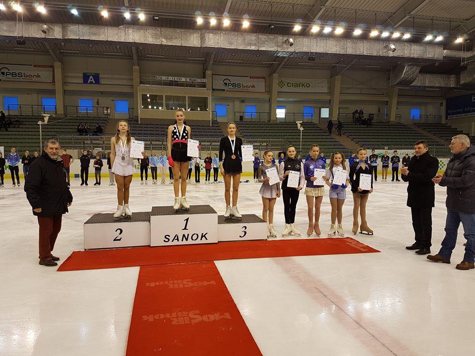 Magdalena Zawadzka z osieckiego OUKŁ Molo wywalczyła w Sanoku złoty medal. Fot. www.facebook.com/uklmolo