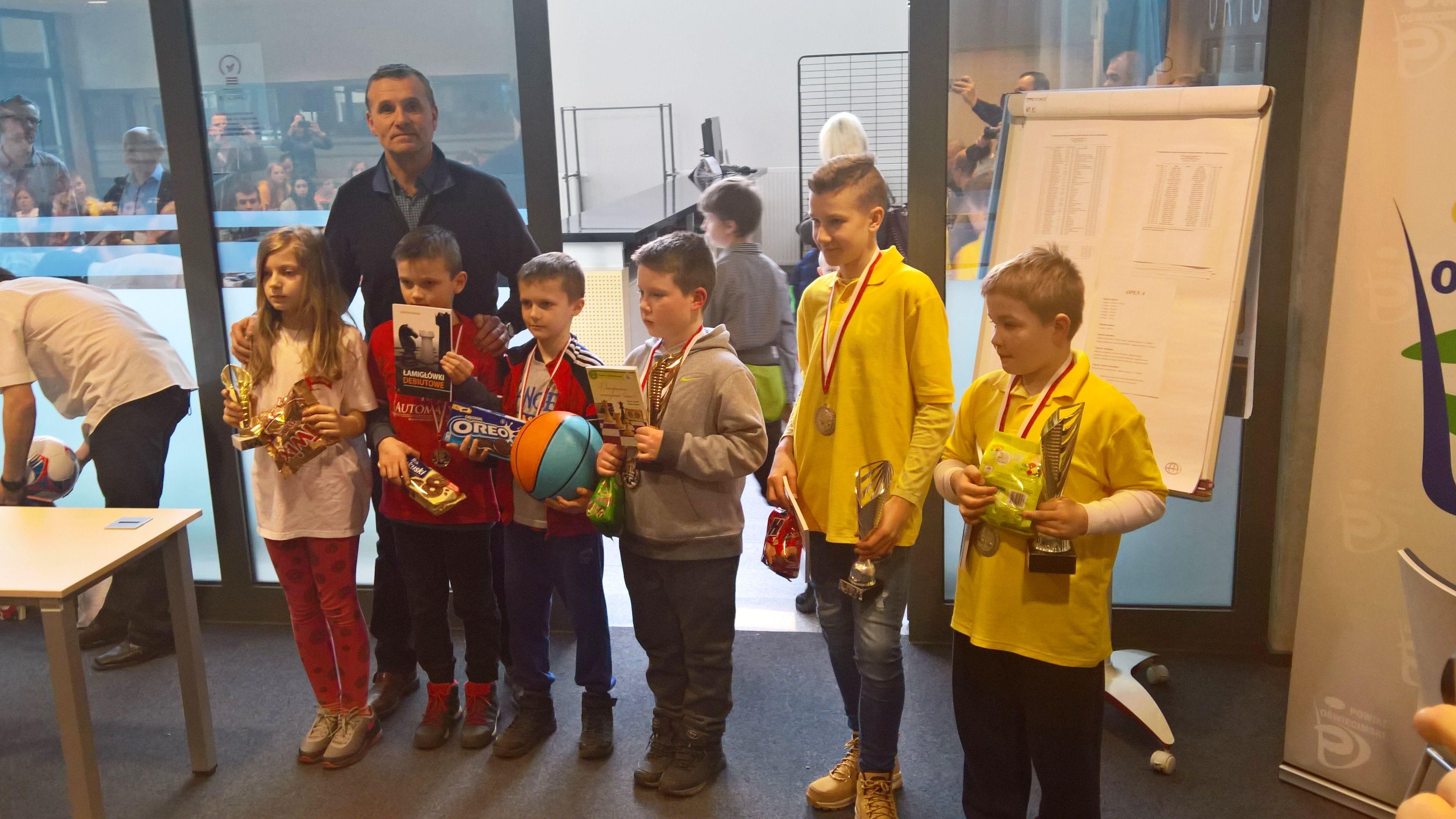 Po raz szósty w Oświęcimiu zorganizowano prestiżowe zawody szachowe. Fot. zbiory organizatora