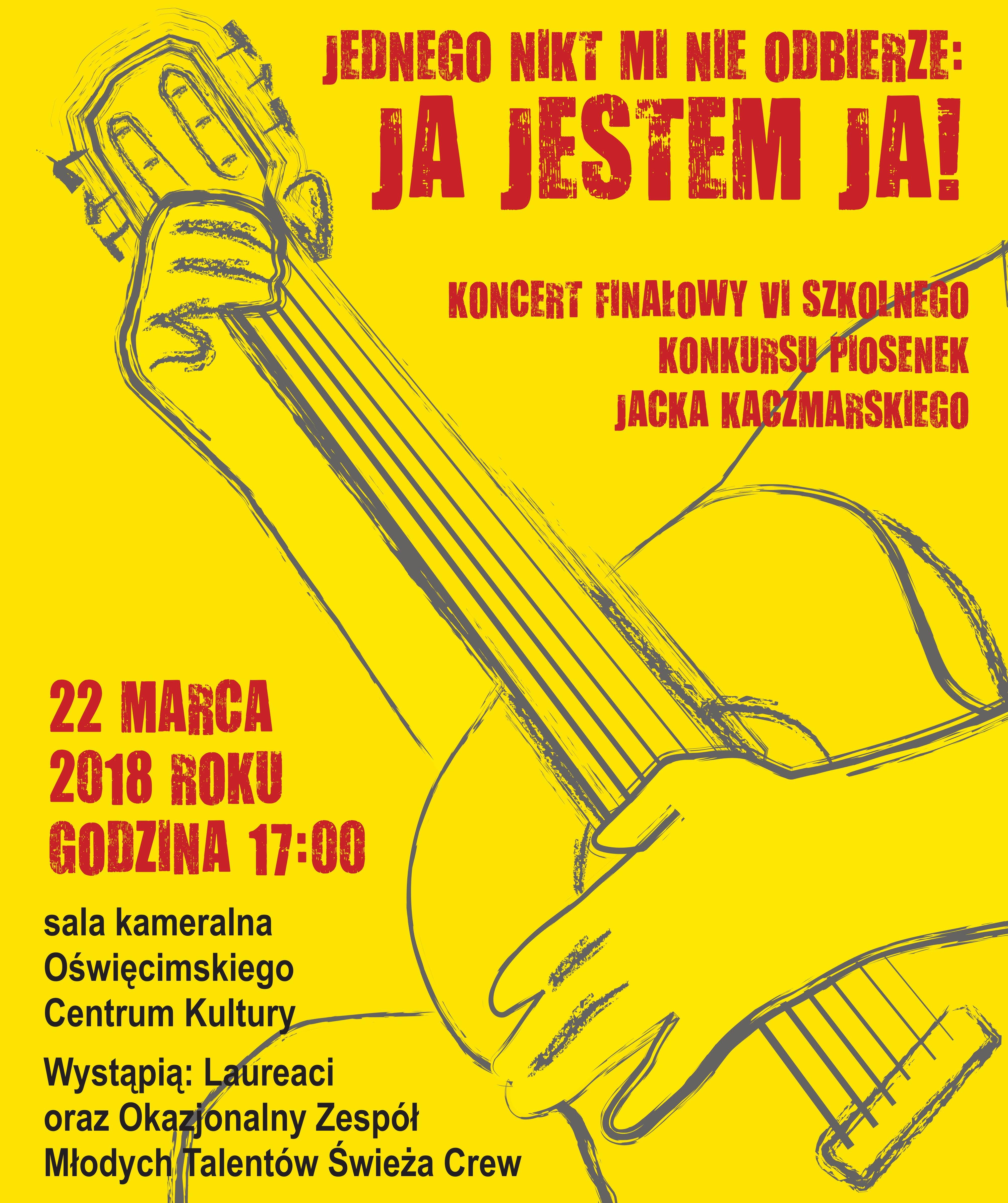 OŚWIĘCIM. Przyjdź na koncert i posłuchaj legendarnych utworów Jacka Kaczmarskiego