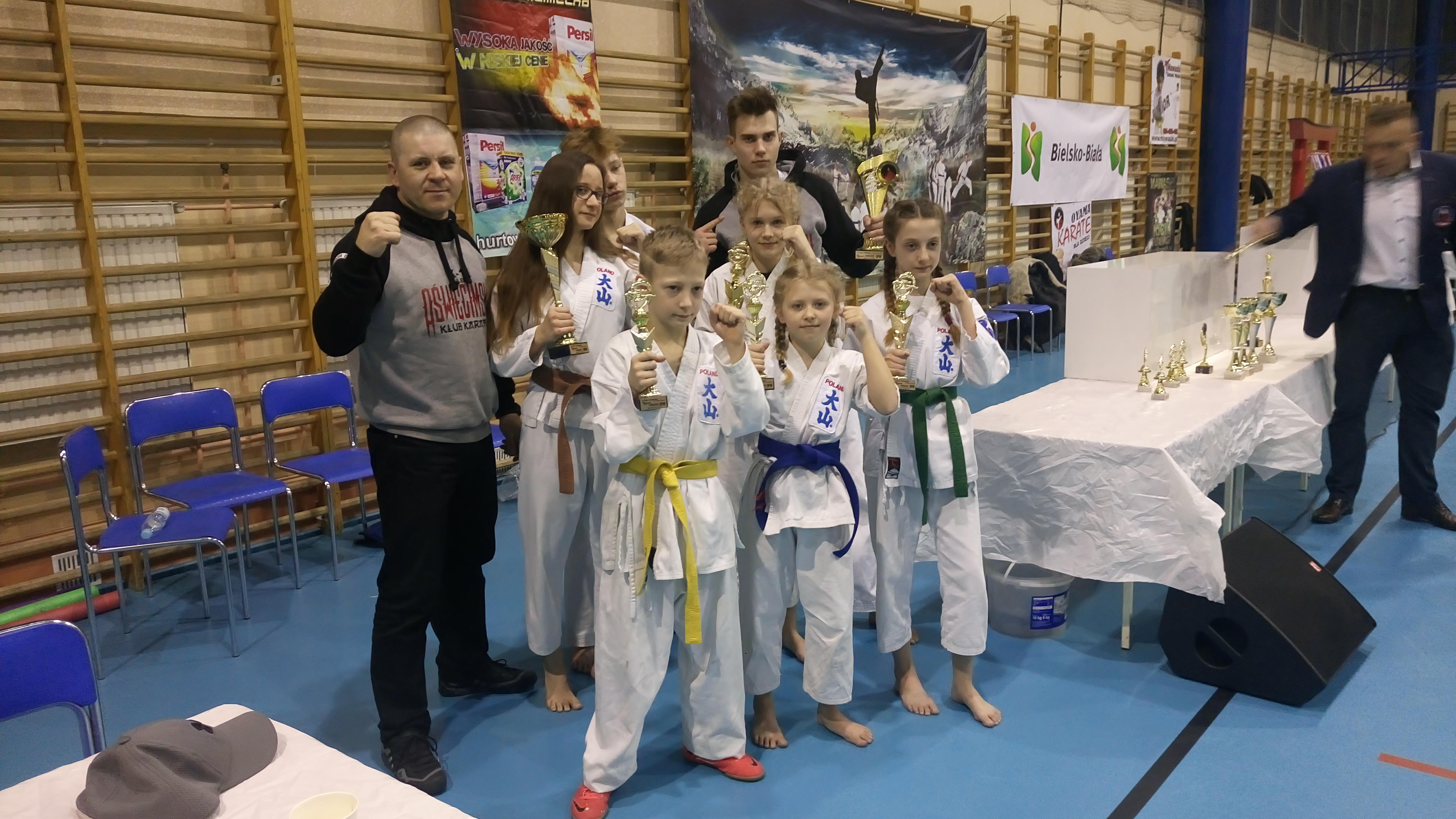 Przedstawiciele oświęcimskich sportów walki pokazali się z dobrej strony w Bielsku-Białej. Fot. zbiory klubu