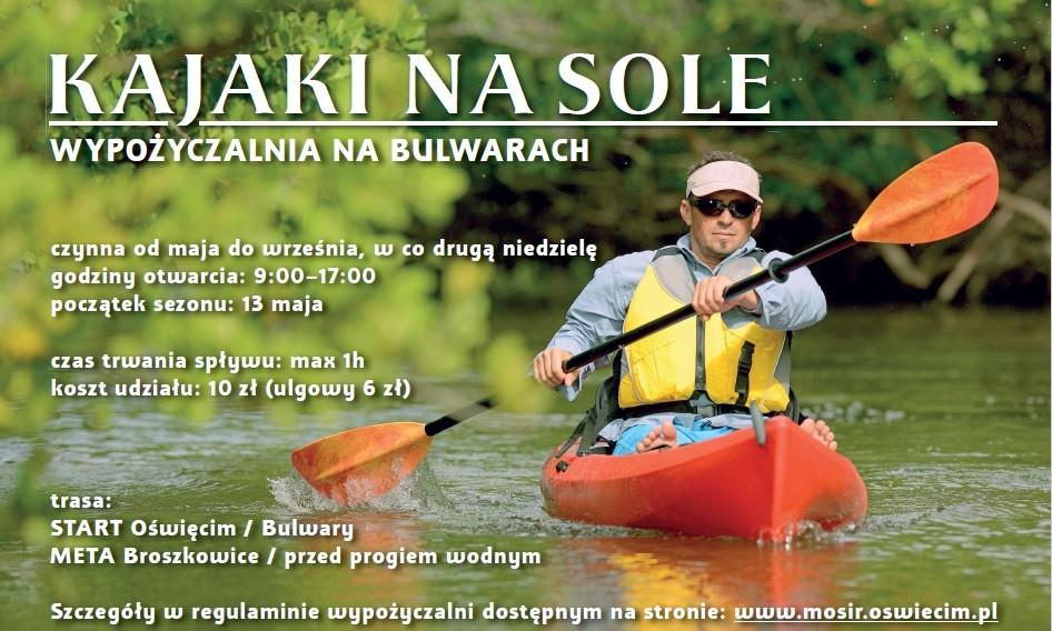 OŚWIĘCIM. 2,5 km rzeką za 10 złotych