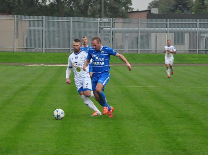 Piłkarze Unii Oświęcim mają przed sobą ostatnie cztery mecze w tym sezonie. Fot. Szymon Chabior