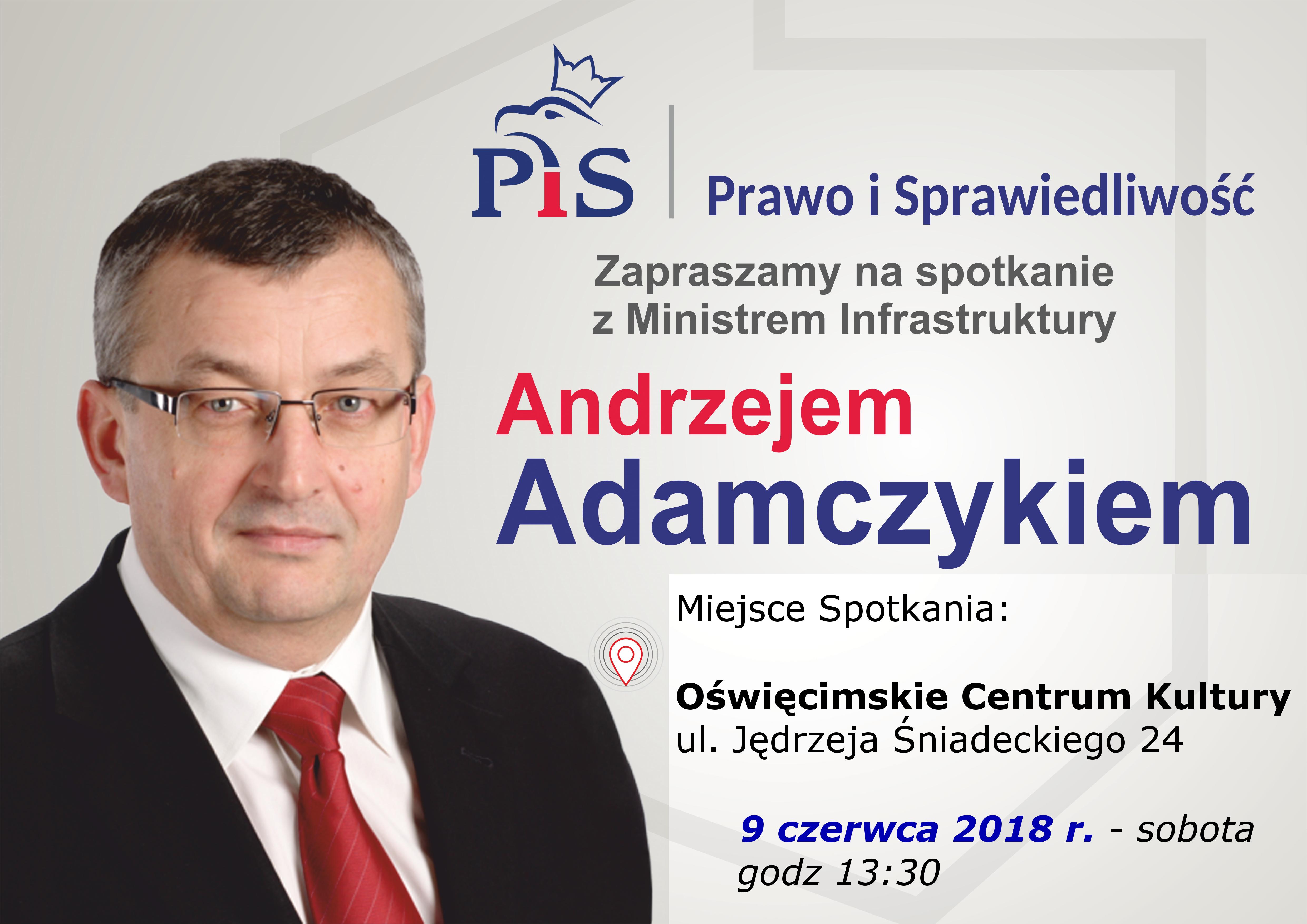 OŚWIĘCIM. Minister infrastruktury w OCK