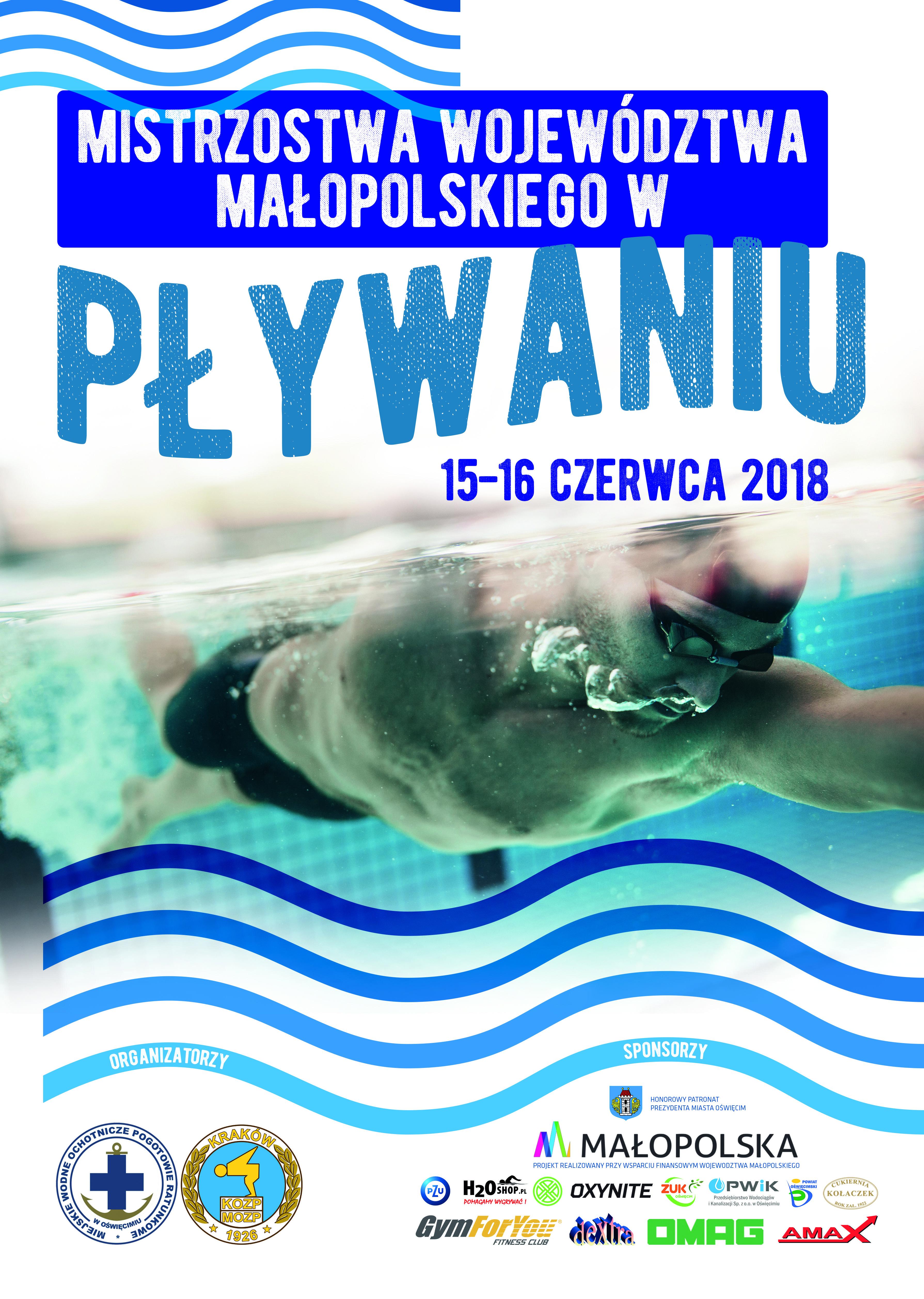 Na oświęcimskiej pływalni rozegrane zostaną mistrzostwa Małopolski.