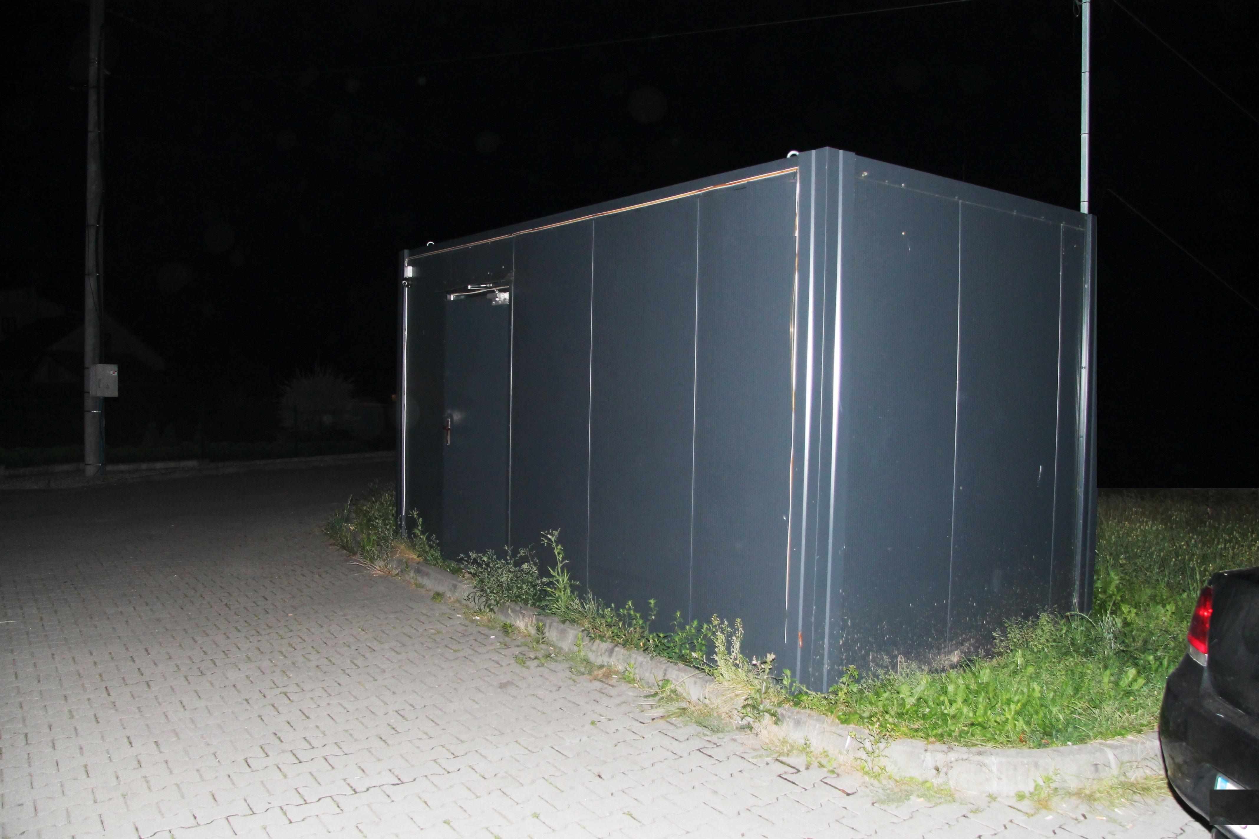 Nielegalny salon gier. Fot. KPP Oświęcim