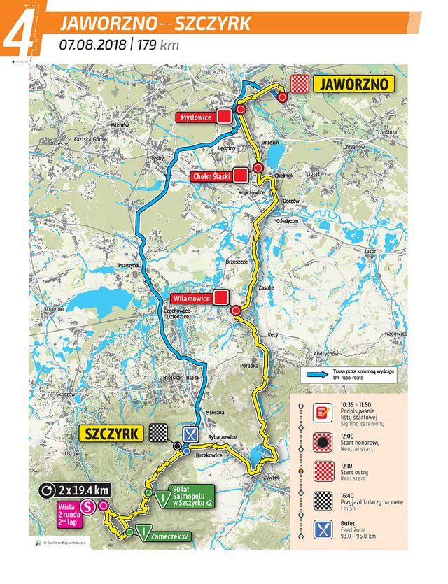 POWIAT. Tour de Pologne dziś przemknie przez nasz powiat. Utrudnienia dla kierowców