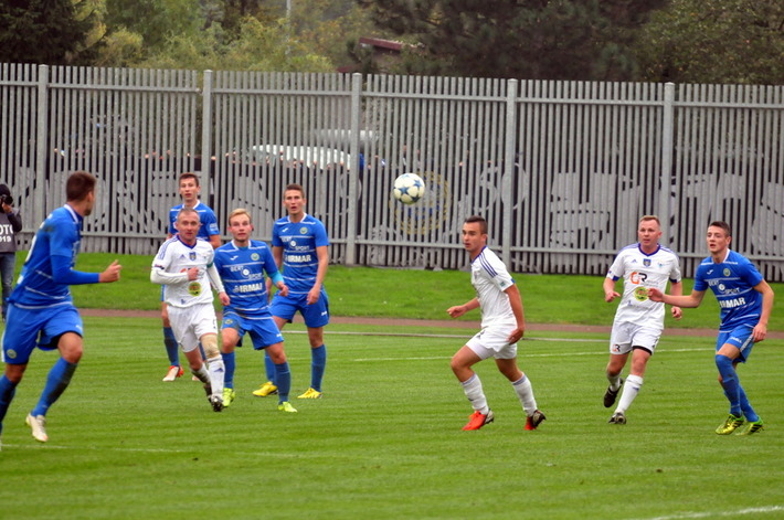 Tylko piłkarze Unii Oświęcim w pucharowych meczach osiągnęli dwucyfrowy rezultat. Fot. Szymon Chabior