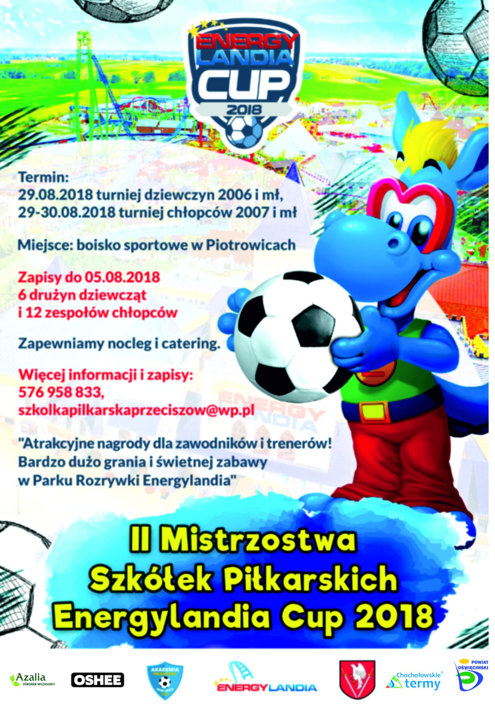 PIŁKA NOŻNA. Energylandia Cup 2018