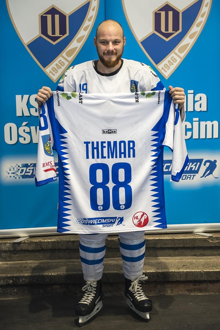 Andrej Themar, nowy nabytek Unii, zeszłoroczny król strzelców polskiej ekstraligi sezonu zasadniczego. Fot. klub