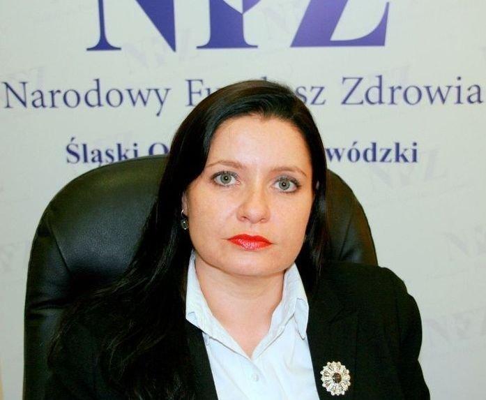 Ewa Momot z czasów, gdy kierowała śląskim NFZ. Fot. ARC