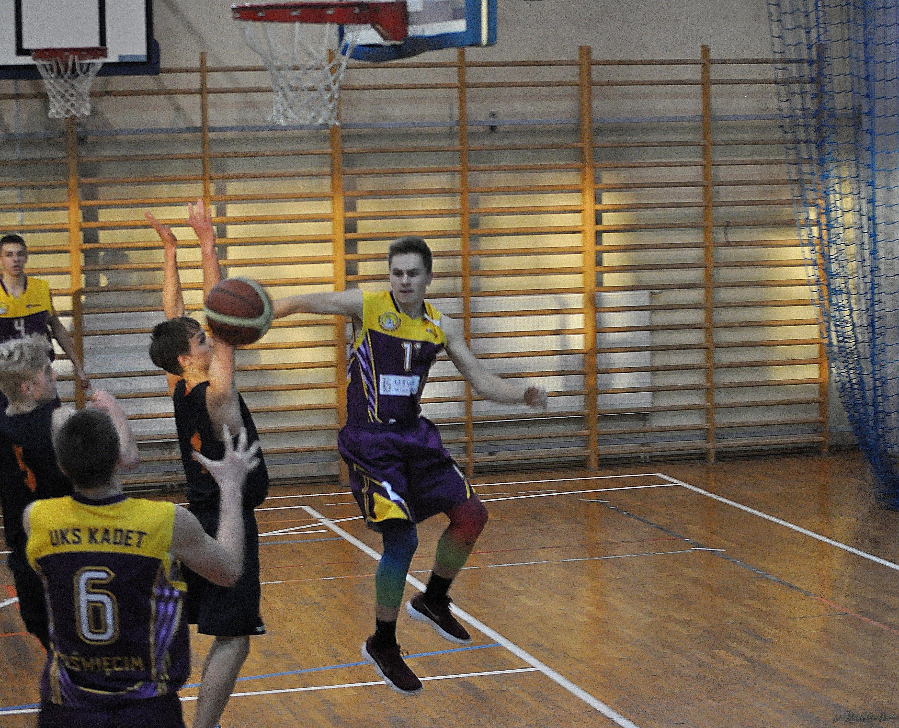 Już w najbliższą niedzielę rozpoczynają się koszykarskie rozgrywki kadetów w sezonie 2018/19. Fot. Iwona Gurdek