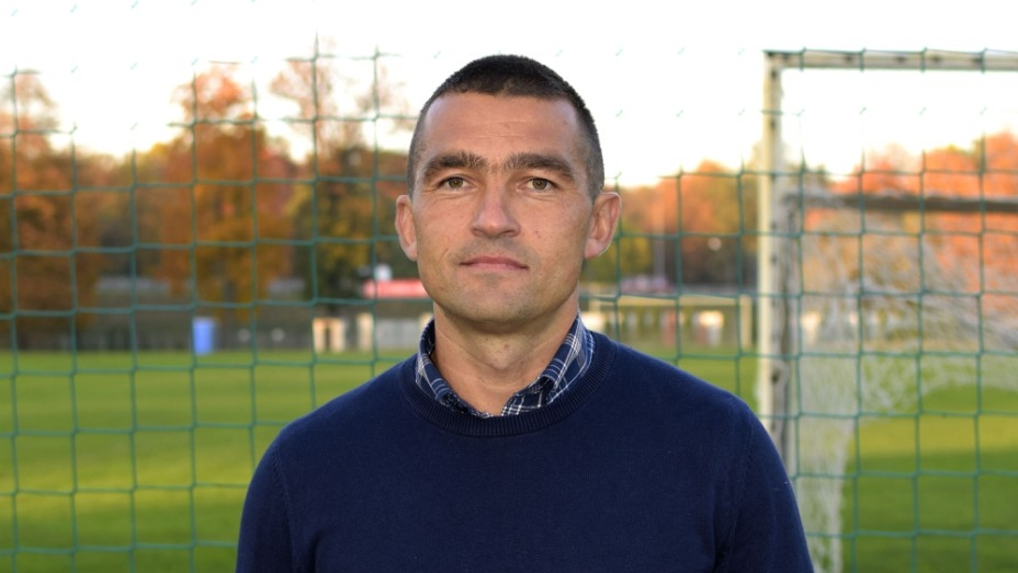 Łukasz Surma został nowym trenerem Soły Oświęcim. fot. solaoswiecim.pl