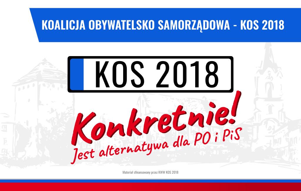 WYBORY. Drużyna Komitetu Wyborczego - KOS 2018