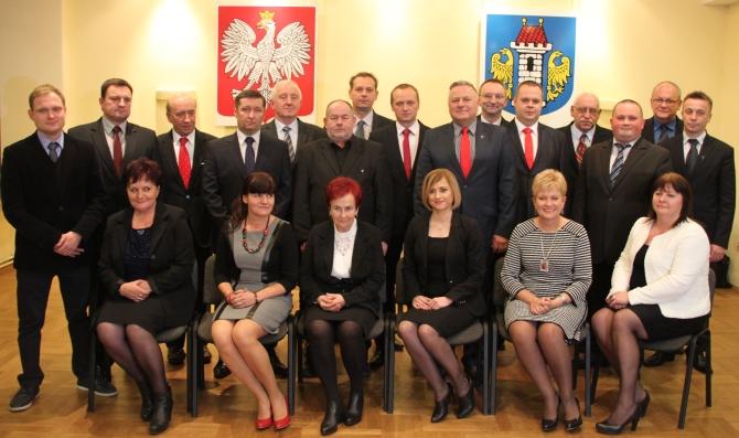 Poprzednia Rada Miasta. Fot. UM Oświęcim