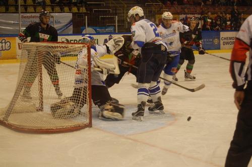 Unia odniosła niezwykle cenne zwycięstwo nad GKS-em Tychy. Już w najbliższy piątek biało-niebiescy zmierzą się w Sosnowcu z Zagłębiem. Fot. (png)
