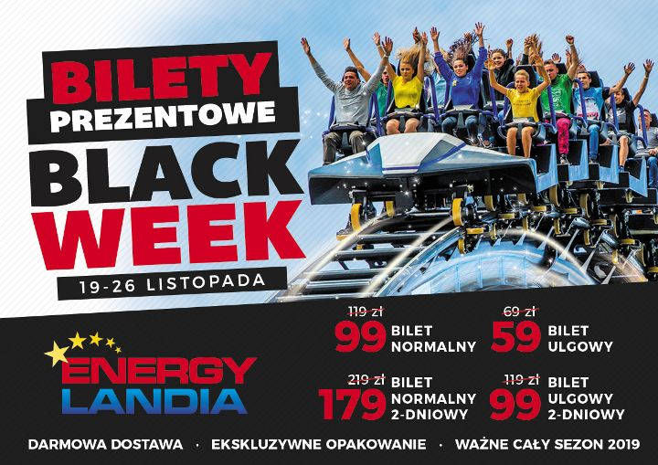 ZATOR. Black Week w Energylandii