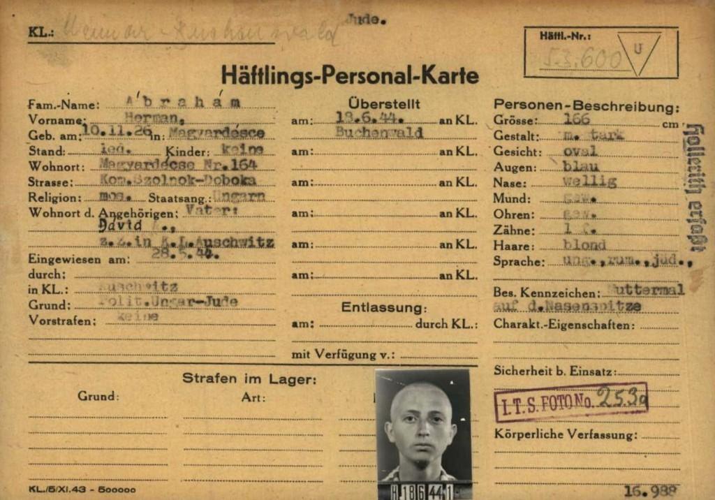 Fot. Muzeum Auschwitz