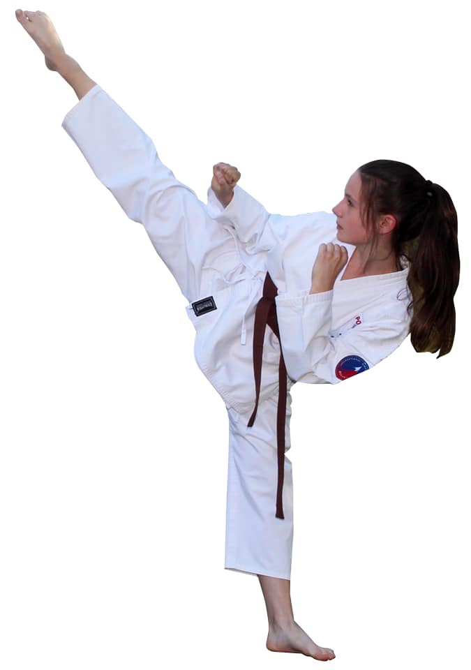 Dominika Chylińska została wybrana najlepszą juniorką minionego roku w polskim karate. Fot. nadesłane