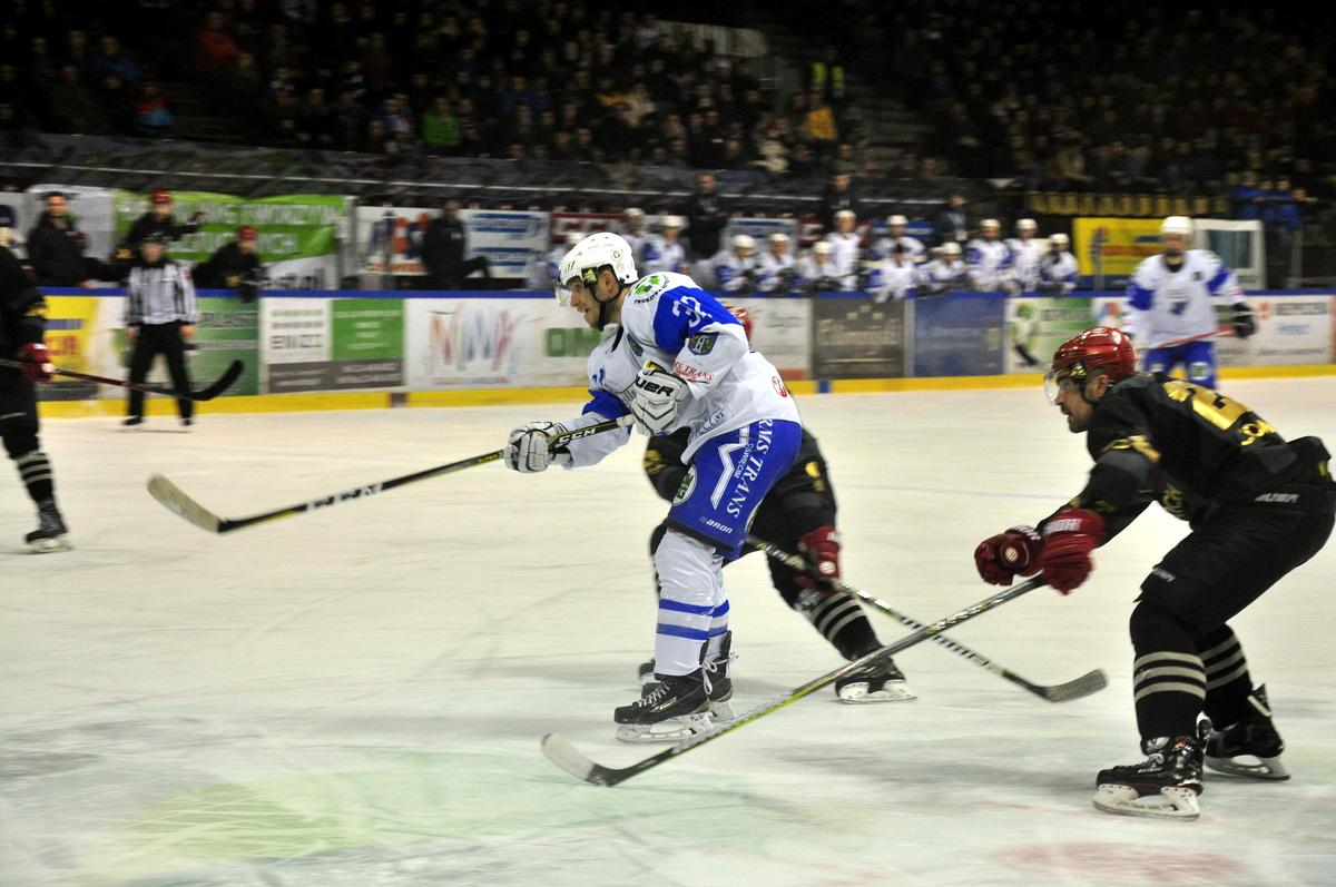 Rozgrywki sezonu zasadniczego w hokejowej ekstralidze wchodzą w decydującą fazę. Fot. Szymon Chabior