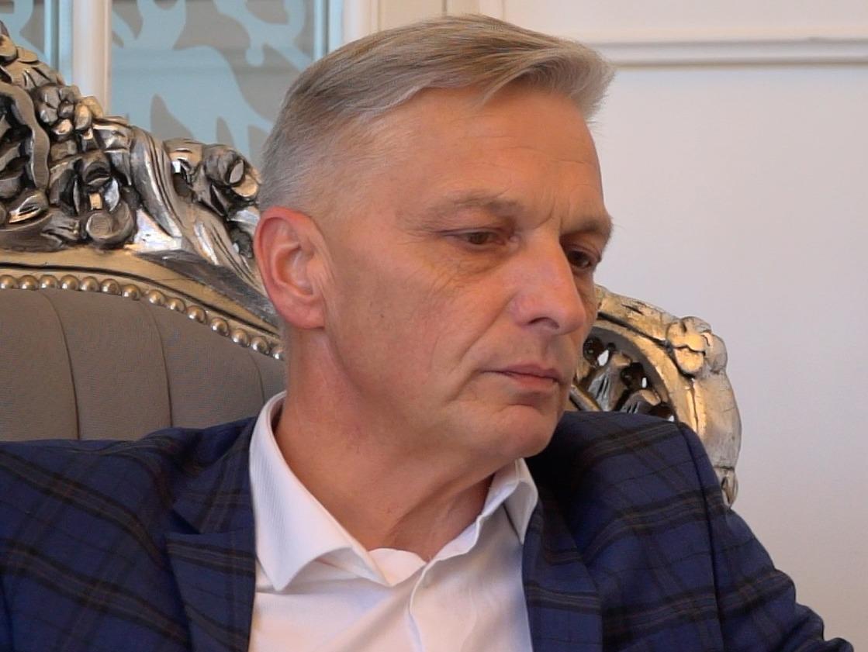 Marcin Niedziela, starosta oświęcimski. fot. red