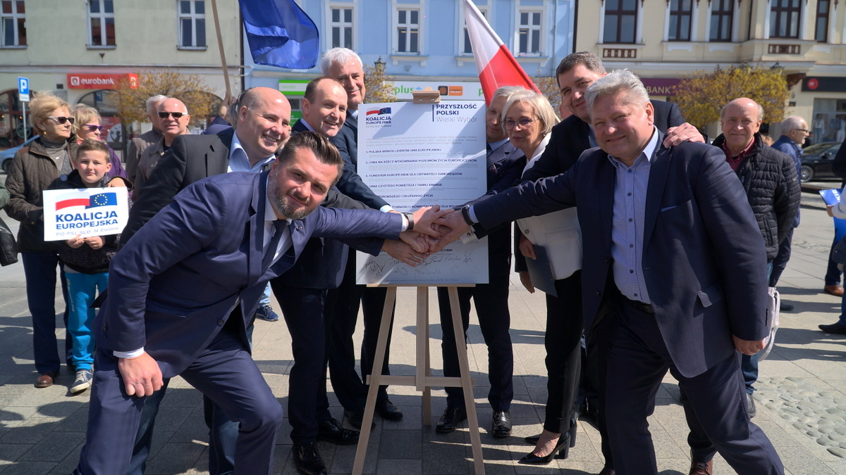 OŚWIĘCIM. Cele Koalicji Europejskiej w wyborach do europarlamentu