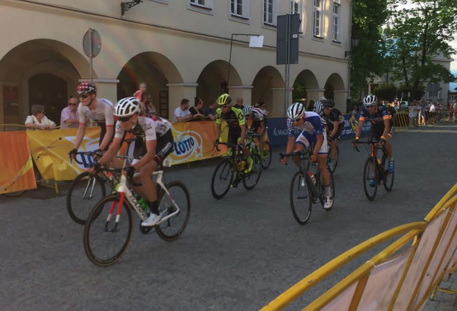 3 maja z Rynku Głównego wyruszą kolarze. Trzeci etap Karpackiego Wyścigu Kurierów rozpocznie się w Oświęcimiu, a meta będzie usytuowana w orawskiej Jabłonce. Fot. (png)