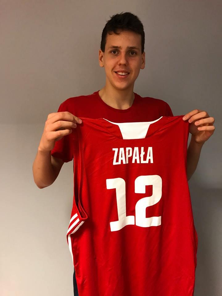 Wychowanek oświęcimskiego Kadeta - Szymon Zapała był najlepszym zawodnikiem sopockiego Trefla w koszykarskich finałach mistrzostw Polski juniorów. Fot. zbiory UKS Kadet/nadesłane
