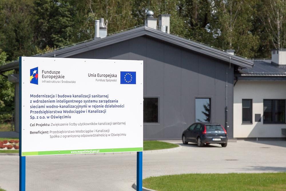 OŚWIĘCIM. PWiK Sp. z o.o. w Oświęcimiu zrealizowało projekt współfinansowany ze środków UE o wartości  5.286.504,00 zł