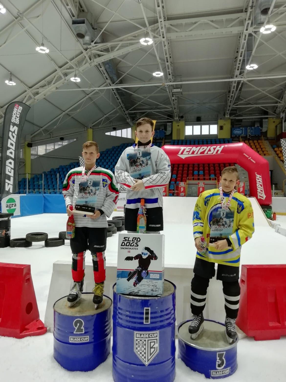 """Adrian Ziober z UKH Unii wygrał zawody z serii """"Blade Cup XL 2019"""" w kategorii QUICK. Fot. nadesłane/zbiory UKH Unii"""