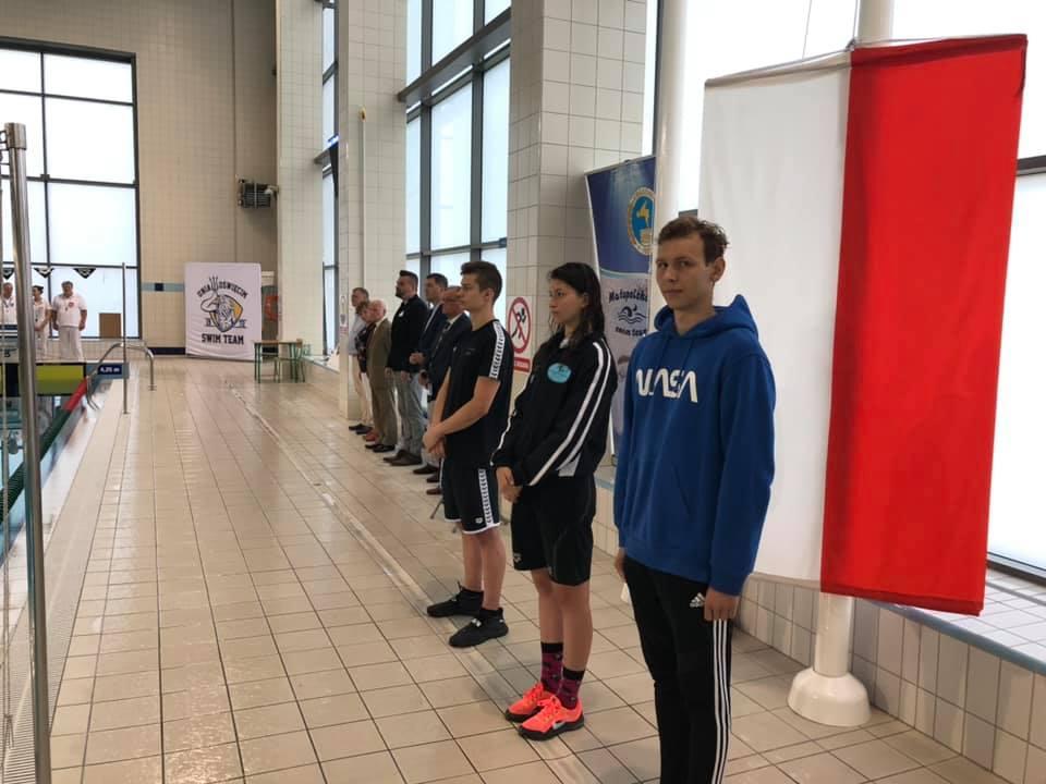 W Oświęcimiu walczono o medale mistrzostw Polski 15-latków w pływaniu. Fot. Szymon Chabior